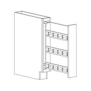 Dakota - Base Pantry Pull Out Drawer Base - 6, 34 1/2, 24