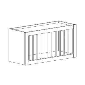 Dakota - Plate Rack Wall Bridge - 30, 15, 12