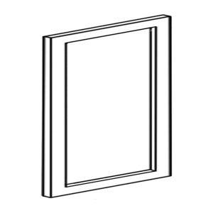 Colonial | White - Base Side Door Panel - 24 7/8, 30