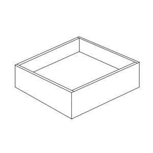 Colonial | White - Roll Out Drawer - 14, 4 1/2, 21